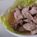 ポン酢で柔らか♪豚もも肉の簡単レンジチャーシュー