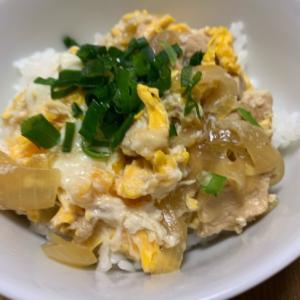 ふわふわ卵の親子丼♪