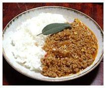 インド料理の定番!キーマカレー!