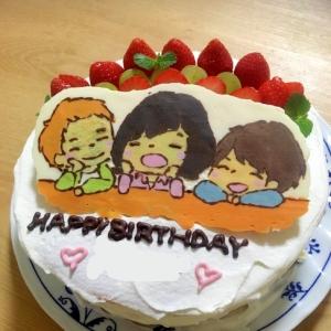 SHISHAMOのキャラケーキ☆