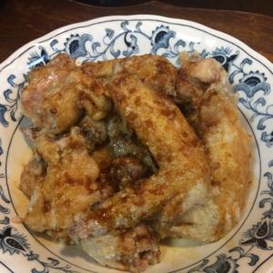 オーブンで作る鶏肉のガーリック唐揚げ
