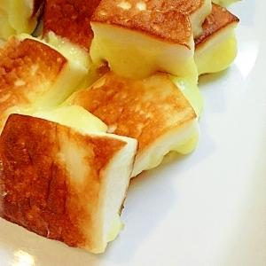 はんぺんチーズのバター醤油焼き