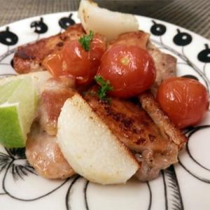 鶏もも肉と長芋のクレイジーソルト焼き