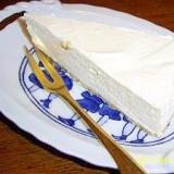 ベーシックな低糖質スイーツ。定番レアチーズケーキ!