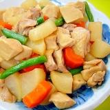 大根と高野豆腐鶏肉の煮物