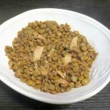 レンズ豆とツナのスパイシー煮