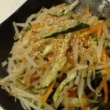 サッパリ♪中華風3色サラダ