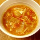完熟トマトで★簡単トマトスープ