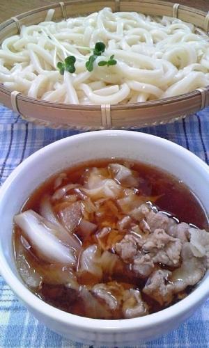 暑い日にもおすすめ♪うど~んdeスタミナつけ麺♪