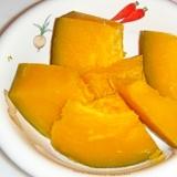 ル・クルーゼで!かぼちゃの塩鶏がらスープ煮