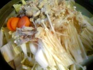 とろ~り♪簡単&激安☆コラーゲン鶏しお鍋