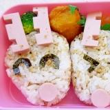 魚肉ソーセージで簡単♪トナカイおにぎり