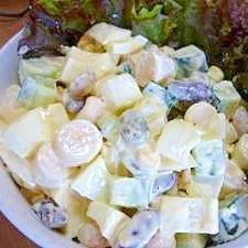 コロコロ野菜&ビーンズのサラダ♪
