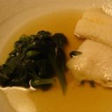 白身魚のさっと煮