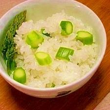 減塩☆アスパラご飯