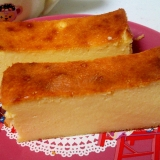 回して簡単☆高野豆腐が入ったベイクドチーズケーキ