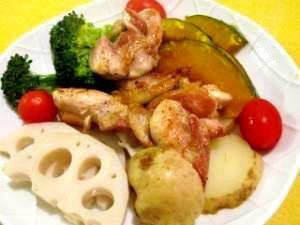ご飯粒食べない日に作る! 温野菜いっぱ~いメニュー