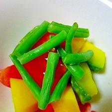 彩り良い温野菜サラダ