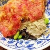 麺つゆ無くても♪美味しい天丼〜紅生姜の天ぷら〜