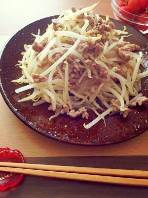 3分レシピ★もやしの肉味噌炒め