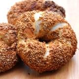 トルコのパン★ゴマ付きシミット