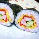 太巻き寿司♪卵アレンジ編
