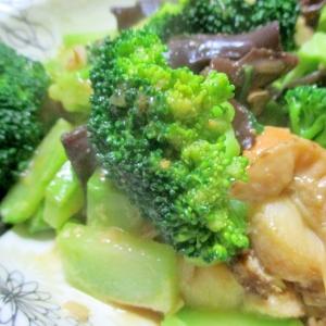 ホタテとブロッコリーの中華風うま煮