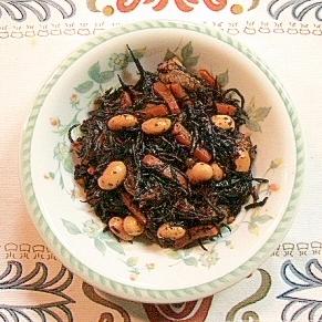 初心者でも簡単にできる 定番 大豆とひじきの煮物