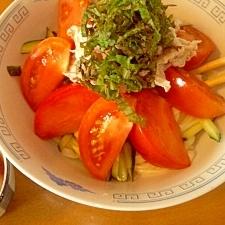 簡単ひと手間で♪野菜が美味しい§サラスパ§