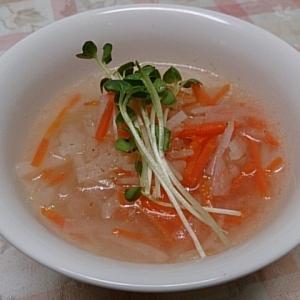 大根と人参のスープ