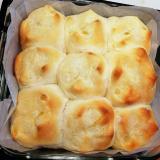 ふわふわマーマレードちぎりパン