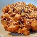 ❤鶏肉と茄子の甘味噌炒め❤