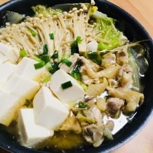 スープの素で作る!簡単お鍋