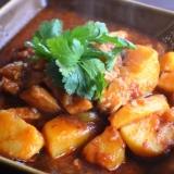 トルコ料理★鶏肉とジャガイモの煮込み