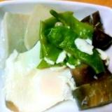 子供が喜ぶ♪たまごと高野豆腐の煮物