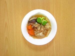あさりと野菜のブイヨン煮