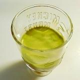 コーヒー風味のメープル抹茶カプチーノ