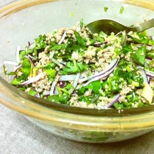 タイ風、挽肉のサラダ