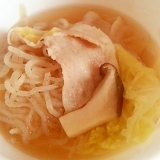 *豚バラ野菜スープ*ほんだし