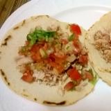 本場メキシコの家庭の味 辛くないタコス