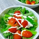 生で美味しい!空芯菜のサラダ
