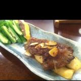 エリンギと牛肉のステーキ