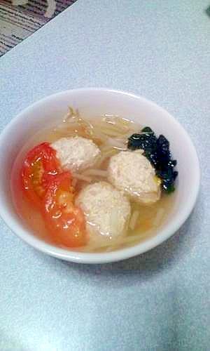 鶏肉と野菜たっぷりのスープ♪