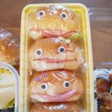 あかんべーぱんちゃん☆運動会お弁当に☆