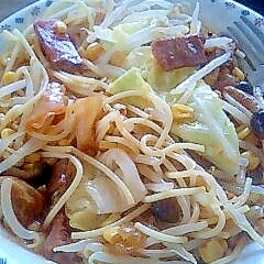 野菜たっぷりちゃんぽん風スパゲティー