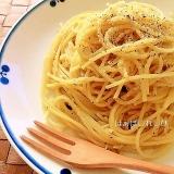 しらすと黒胡椒のスパゲティー