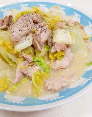 子供が喜ぶ(^^)豚肉と白菜のオイスターマヨ炒め♪