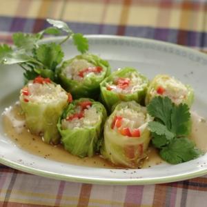 キャベツの野菜巻き