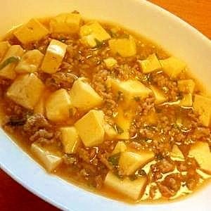 合わせ調味料で簡単☆麻婆豆腐