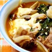 キムチスープ②